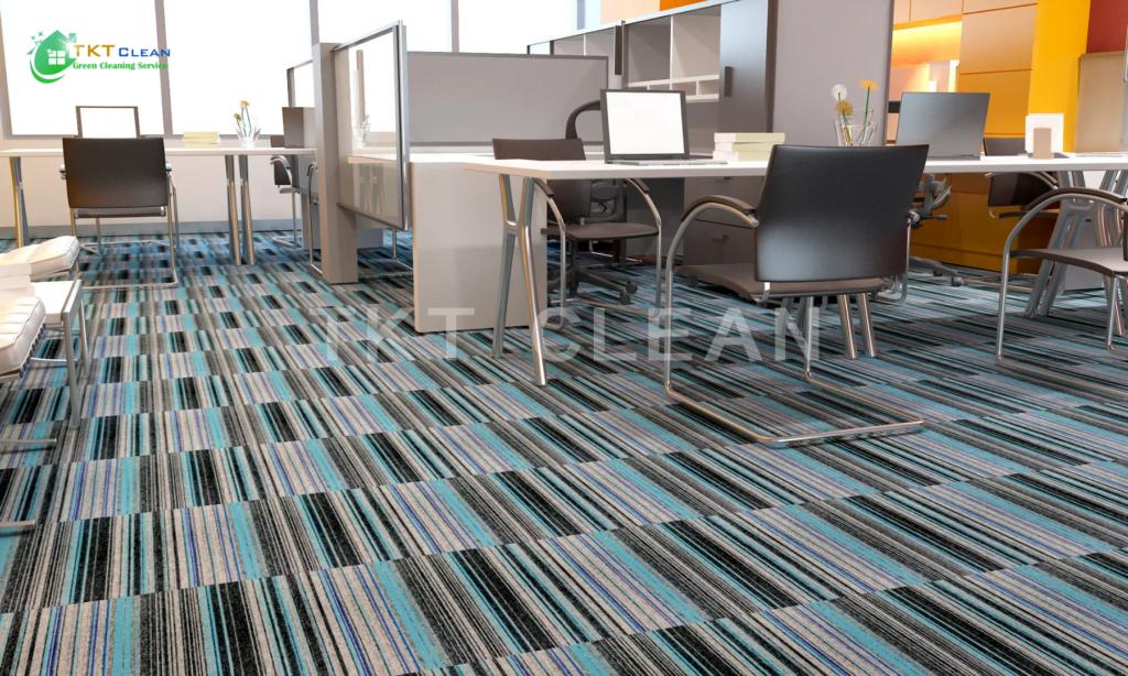 Sàn văn phòng sử dụng thảm trải