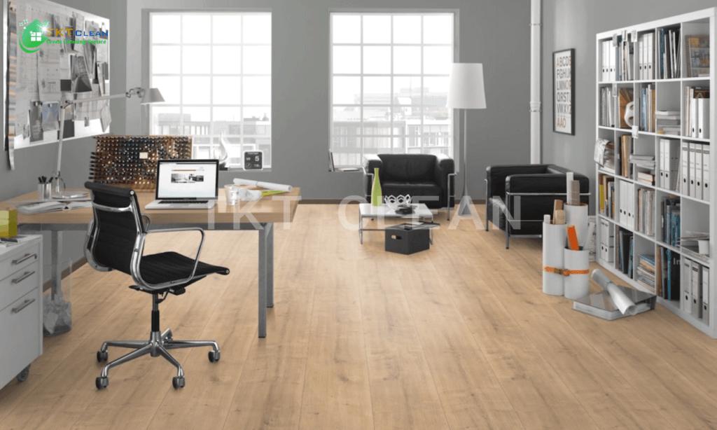 Sàn gỗ tự nhiên mang đến cảm giác tinh tế