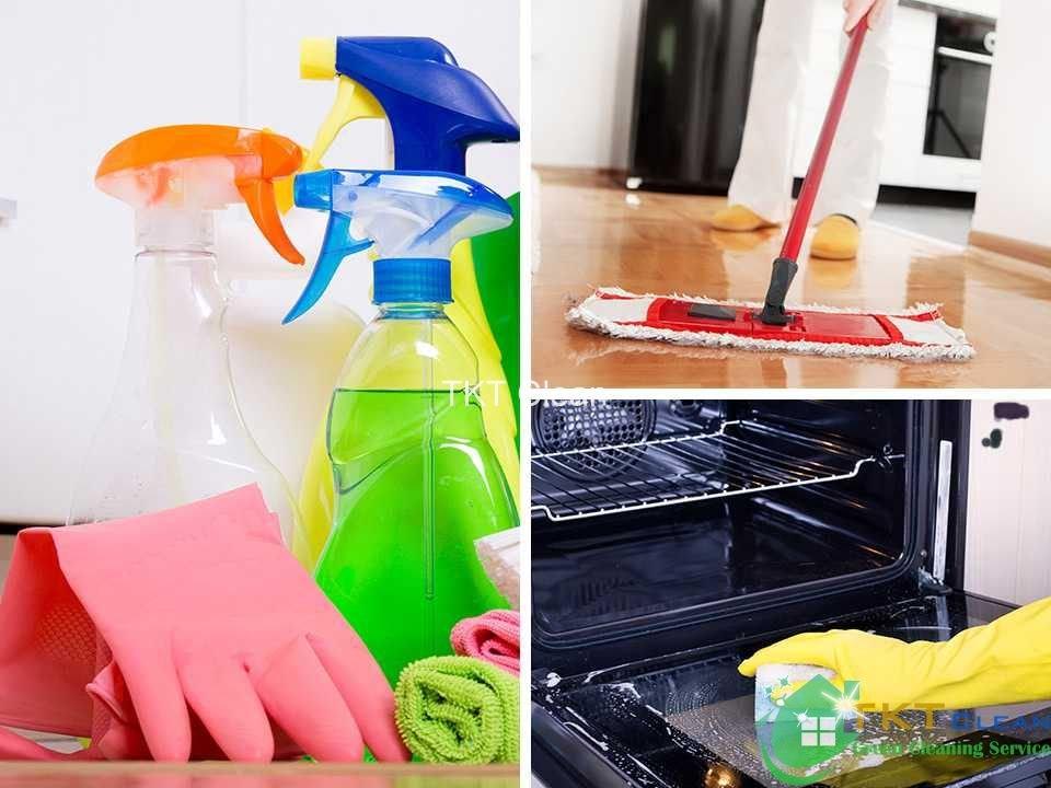 Vệ sinh nhà bếp sạch sẽ