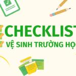 checklist ve sinh truong hoc