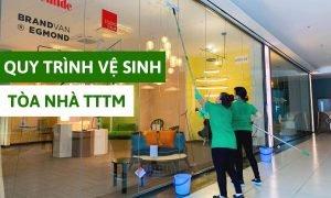 Quy trình vệ sinh TTTM